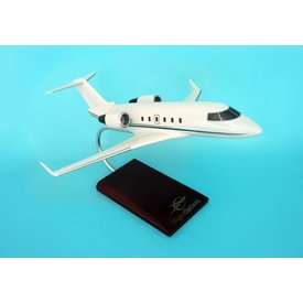 Challenger 601 Bombardier Flight Options 1:48 with stand