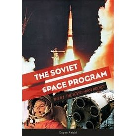 Schiffer Publishing Soviet Space Program: N1: Soviet Moon Rocket hardcover