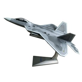 Air Force 1 Model Co. F22A Raptor 90th FS 3rd Wing Elmendorf AFB AK Pair-o-Dice 1:72 with stand