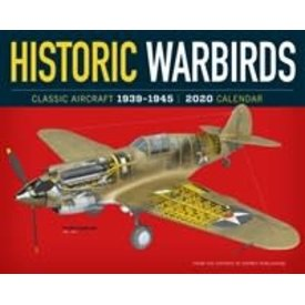 Workman Publishing Historic Warbirds Classic Aircraft Calendar 2020