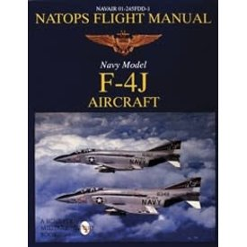 Schiffer Publishing NATOPS Flight Manual: Navy Model F4J Phantom II Aircraft softcover (NSI)