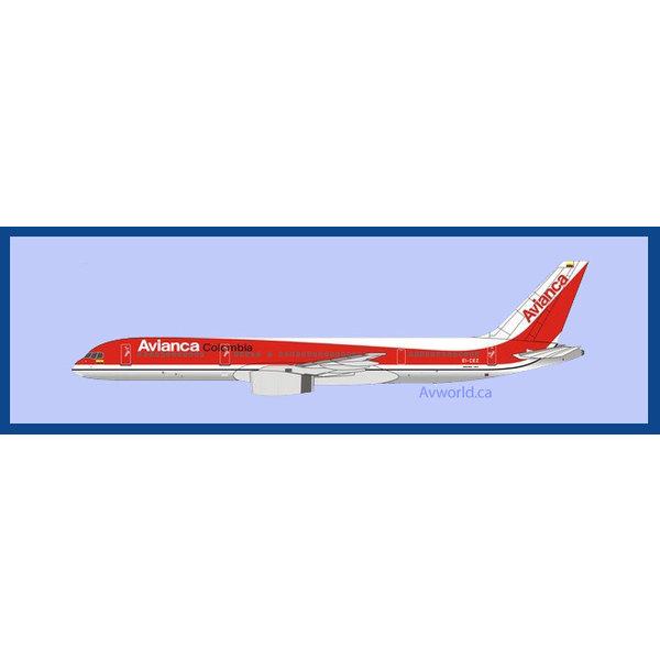 NG Models B757-200 Avianca Columbia 1990s livery EI-CEZ 1:400