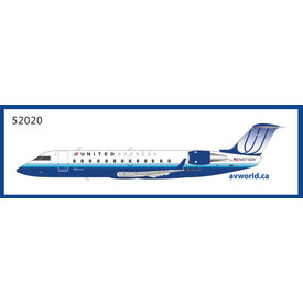 NG Models CRJ200 United Express Blue Tulip 2003 Livery N971SW 1:200