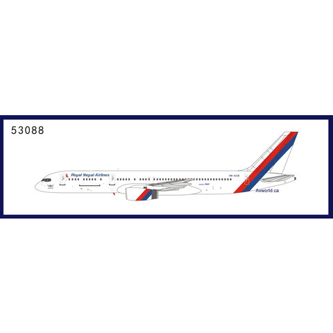 B757-200 Royal Nepal Airlines 9N-ACB 1:400