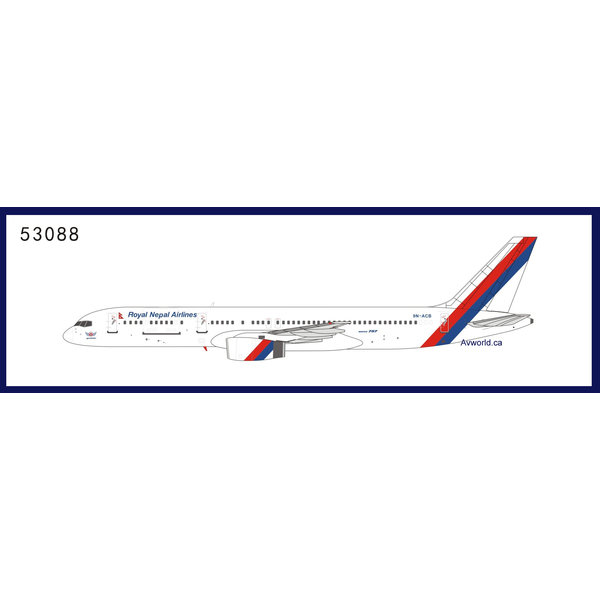 NG Models B757-200 Royal Nepal Airlines 9N-ACB 1:400