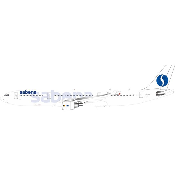 InFlight A330-300 Sabena OO-SFM 1:200 with stand