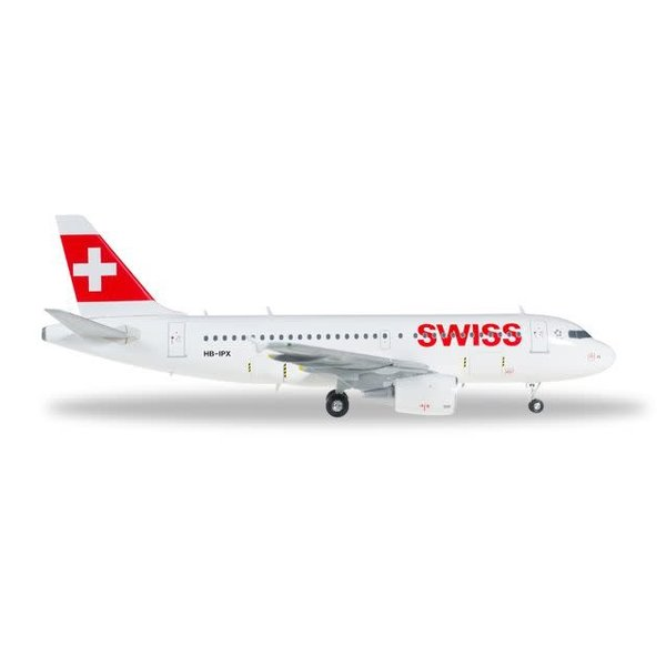 Herpa A319 Swiss International HB-IPX 1:200