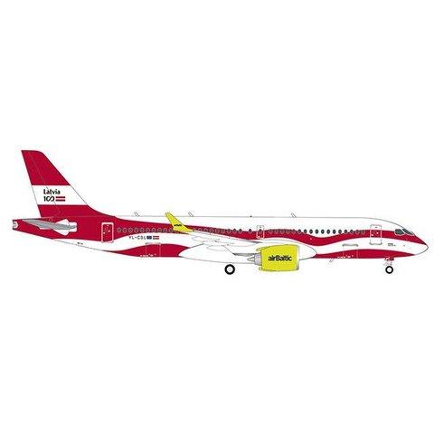 A220-300 (CS300) Air Baltic Latvia 100 YL-CSL 1:200