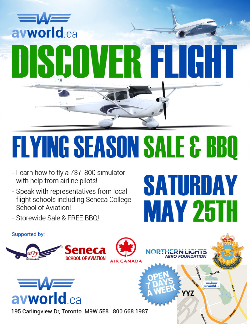 Discover Flight - Flying Season Expo, Sale & BBQ