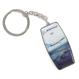 Boeing Store 747-8 ENDEAVORS KEYCHAIN