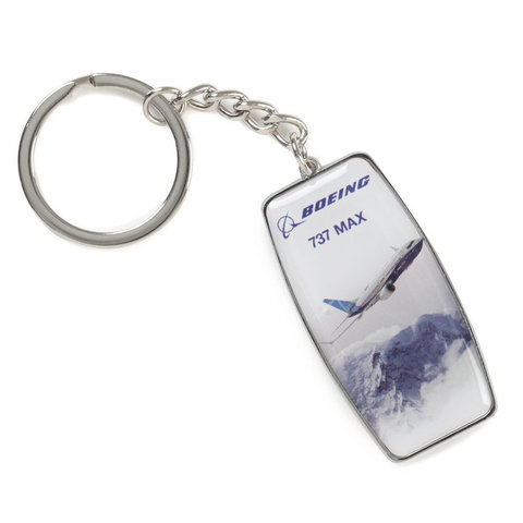 737 MAX ENDEAVORS KEYCHAIN