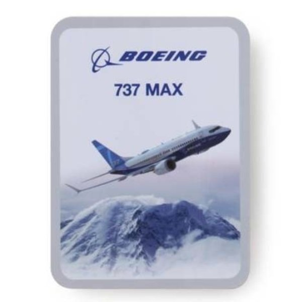 Boeing Store 737 MAX ENDEAVORS STICKER