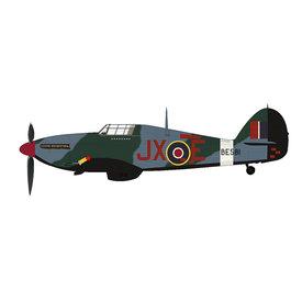 Hobby Master Hawker Hurricane IIc 1Sqn.RAF Night Reaper JX-E BE581 1:48