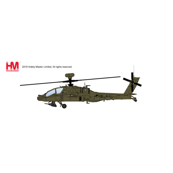Hobby Master AH64E Apache Guardian Korean Army ROK 1:72
