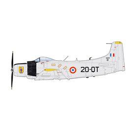 Hobby Master AD4 Skyraider EC2/20 20-QT France Algeria 1960 1:72