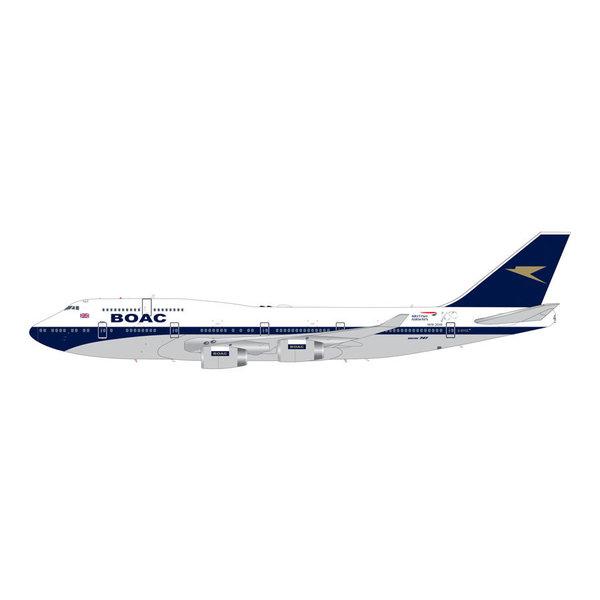 Gemini Jets B747-400 British Airways BOAC Retro G-BYGC 1:200