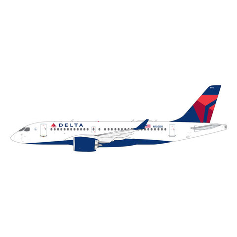 A220-100 (CS100) Delta 2007 Livery N102DU 1:200