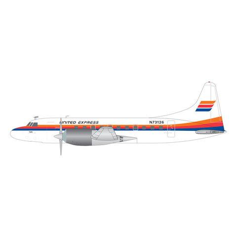 CV580 United Express Saul Bass Livery N73126 1:200