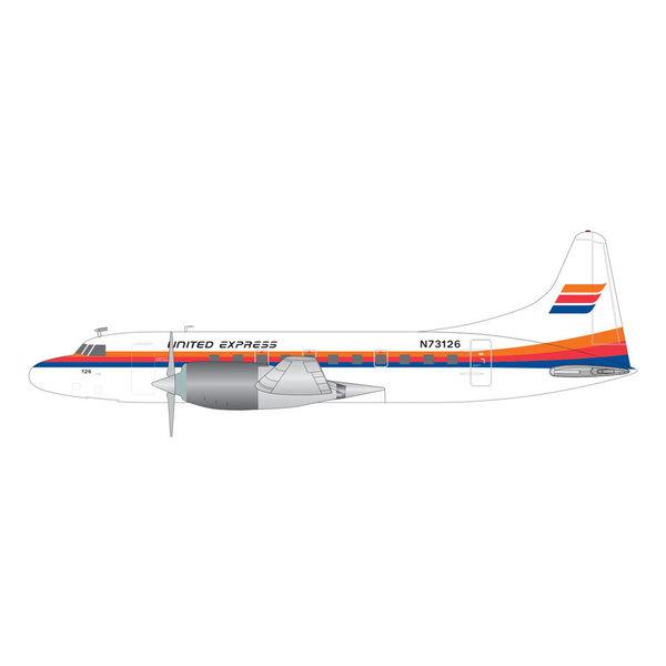 Gemini Jets CV580 United Express Saul Bass Livery N73126 1:200