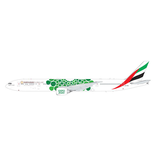 Gemini Jets B777-300ER Emirates Green Expo 2020 A6-EPU 1:200