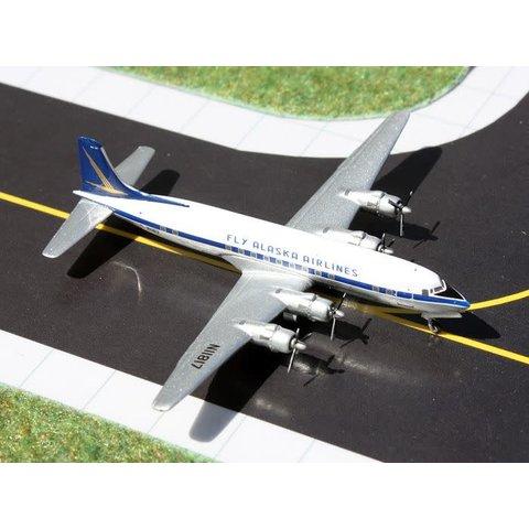 DC6 Fly Alaska Airlines N11817 1:400