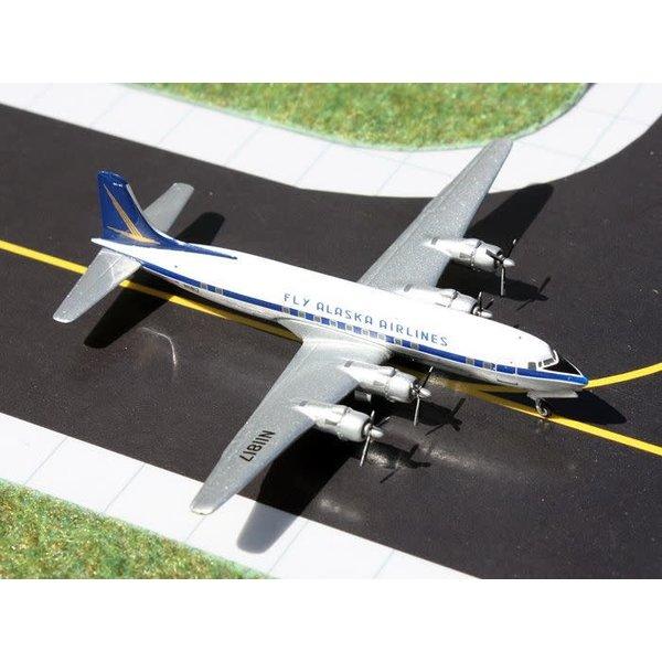 Gemini Jets DC6 Fly Alaska Airlines N11817 1:400