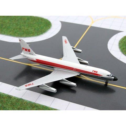 CV880 TWA Starstream Delivery C/S N802TW 1:400