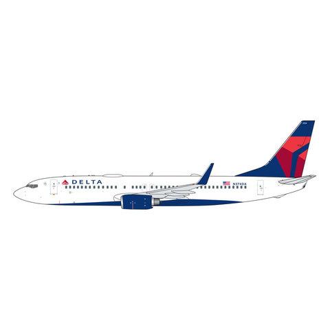 B737-800W Delta 2007 livery N374DA 1:400 (2nd)