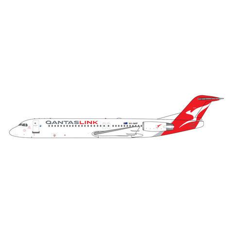 Fokker F100 QANTASlink New Livery VH-NHP 1:400