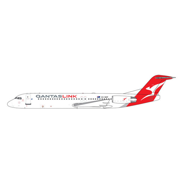 Gemini Jets Fokker F100 QANTASlink New Livery VH-NHP 1:400