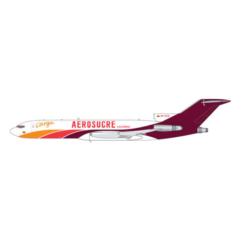 B727-200F Aerosucre Columbia Carga HK-5216 1:400