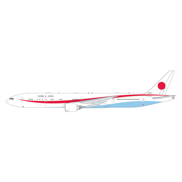 Gemini Jets B777-300ER Japan Government JASDF 80-1111 1:400 flaps