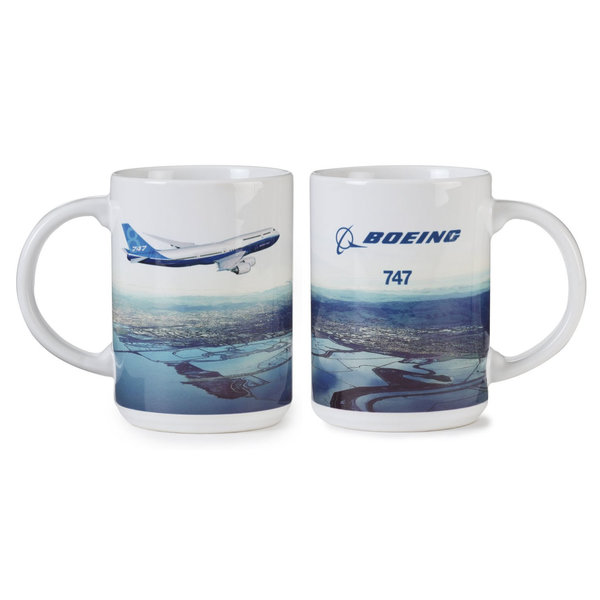 Boeing Store 747-8 ENDEAVORS MUG