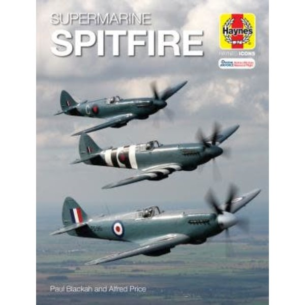 Haynes Publishing Supermarine Spitfire Haynes Icons hardcover