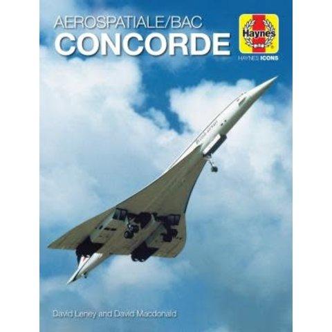 Aerospatiale/BAC Concorde: Haynes Icons hardcover