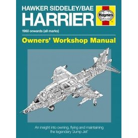 Haynes Publishing Hawker Siddeley/BAE Harrier: Owner's Workshop SC