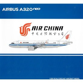JC Wings A320neo Air China B-8891 1:200 with stand