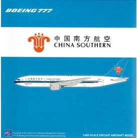 JC Wings B777-200ER China Southern B-2056 1:400