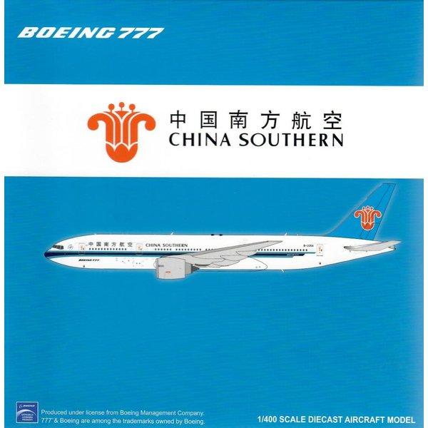 JC Wings B777-200ER China Southern B-2056 1:400