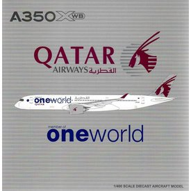 JC Wings A350-900 XWB Qatar  OneWorld A7-ALZ 1:400 Flaps