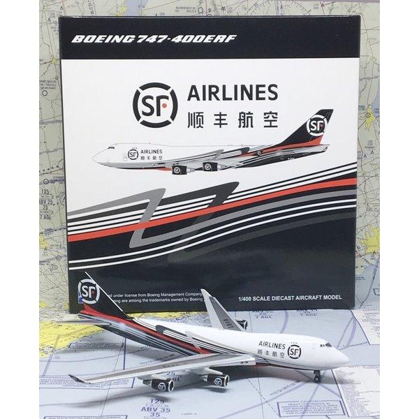 JC Wings B747-400ERF SF Airlines B-2422 1:400