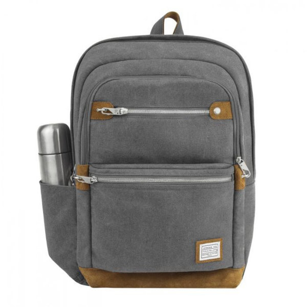 Travelon Anti-Theft Heritage Backpack Pewter
