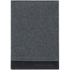 Travelon RFID Blocking Passport Case Slate