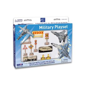 Boeing Military Playset 11 pieces 2 planes