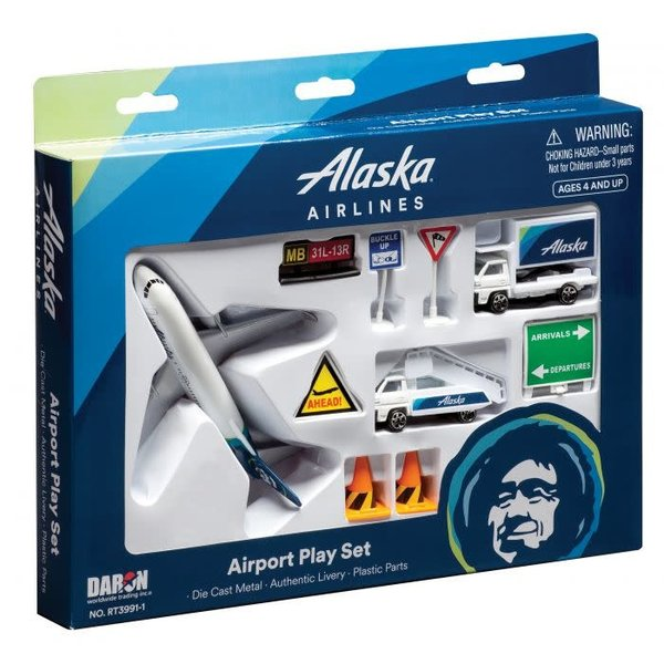 Alaska Airlines Airport Play Set 2015 Livery