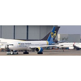JC Wings B777-200ER Ukraine International UR-GOA 1:400 flaps