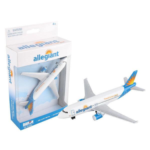 Allegiant A320 Single Plane