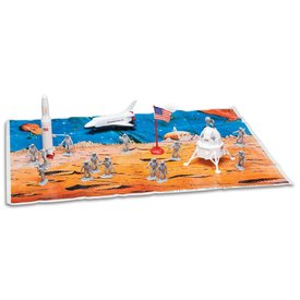 Daron WWT Space Exploration 20 Piece Playset with Playmat