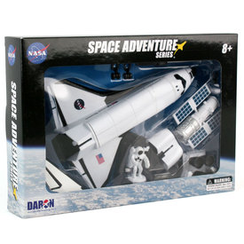 Daron WWT Space Adventure NASA Space Shuttle playset