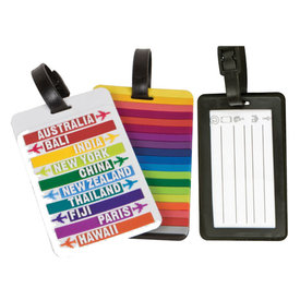 Travelon Set of 2 Luggage Tags Hot Spots